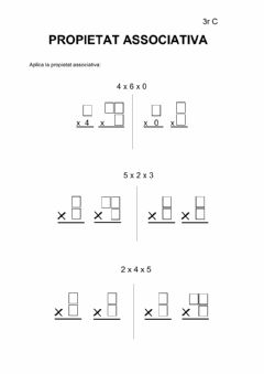 Interactive worksheet Propietat associativa