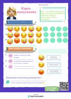 Interactive worksheet Карта Эмоций
