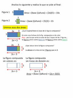 Interactive worksheet Expresiones equivalentes geometricas