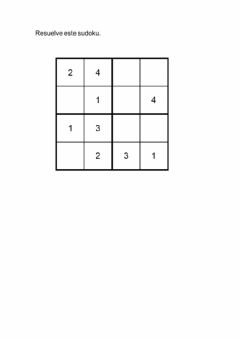 Interactive worksheet Sudoku 3