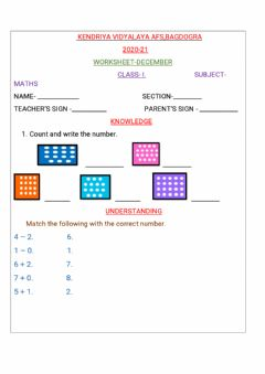 Interactive worksheet Worksheet -december