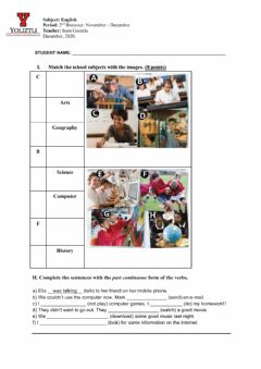 Interactive worksheet Quiz 1st Grade Jr High - Dec 2020