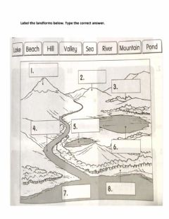 Interactive worksheet The Earth