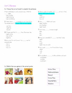 Interactive worksheet Review