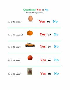 Ficha interactiva Yes or No Questions-1