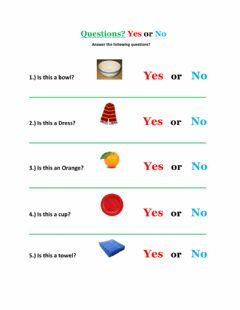 Ficha interactiva Yes or No Questions-2