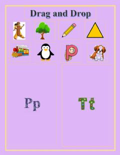Interactive worksheet Drag and Drop the picture in the correct box