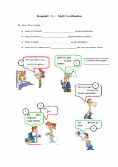 Interactive worksheet Konjunktiv II