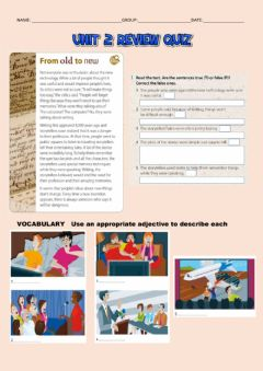 Interactive worksheet Talking about movies and books