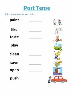 Interactive worksheet Simple Paste Tense