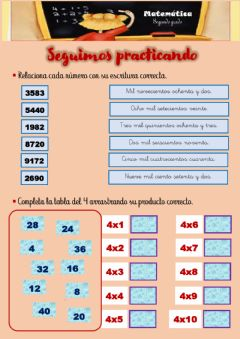 Interactive worksheet Práctica