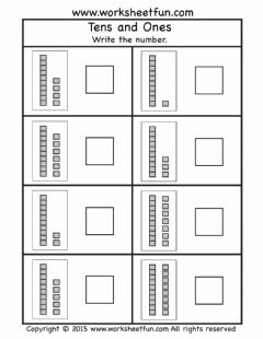 Interactive worksheet Ten & Some More