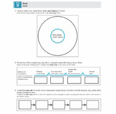 Interactive worksheet Earth 1