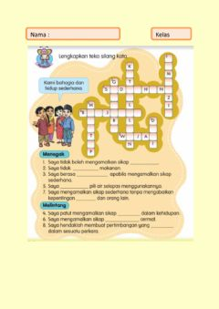 Interactive worksheet Kesederhanaan