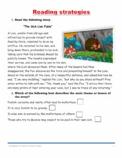 Interactive worksheet Determine the themes of short stories