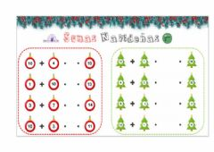 Interactive worksheet Sumas navideñas-2
