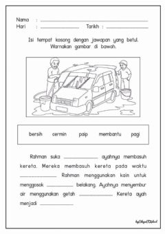 Interactive worksheet Isi Tempat Kosong