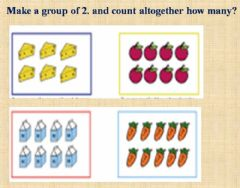 Interactive worksheet Groups of 2's
