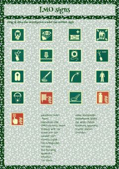 Interactive worksheet IMO Safety Signs
