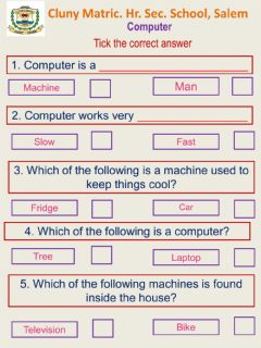Interactive worksheet Class 1 to 4 Csci 2