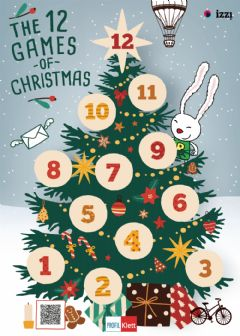 Interactive worksheet The 12 games of christmas