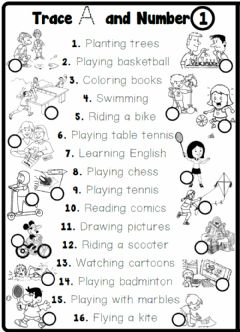 Interactive worksheet 4.4. Free Time Activities