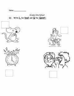 Interactive worksheet Sounds and Hearing