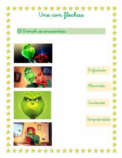 Ficha interactiva El grinch