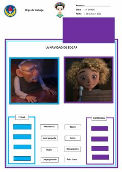 Interactive worksheet Descripción física