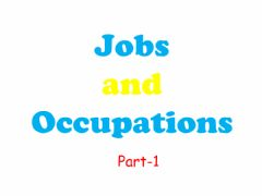 Ficha interactiva Jobs and Occupations-1
