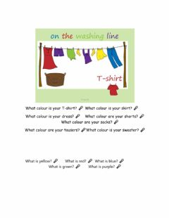 Interactive worksheet Clothes: speaking exercise