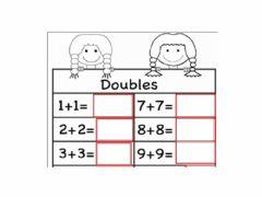 Interactive worksheet Double