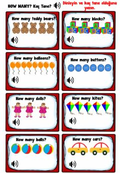 Interactive worksheet Toys and Games Worksheets
