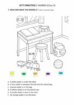 Interactive worksheet LET'S REPEAT SM1 - Class 4 (Units 0, 1, 2, 3)
