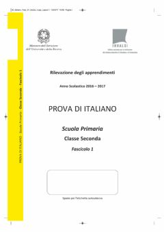 Interactive worksheet Invalsi italiano 2