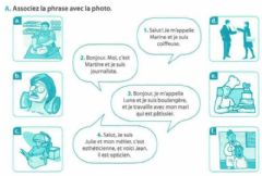 Interactive worksheet Les professions - 1