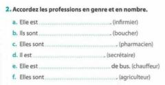 Interactive worksheet Les professions - 4