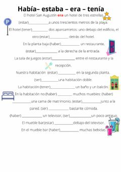 Interactive worksheet Los pasados