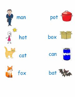 Ficha interactiva Rhyming Words K Skills U6, L7-11
