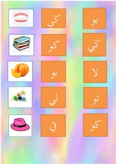 Interactive worksheet Jawi 2