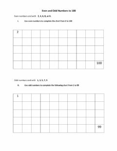 Ficha interactiva Even and Odd numbers