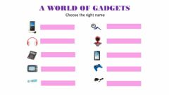 Interactive worksheet Gadgets and frequency adverbs