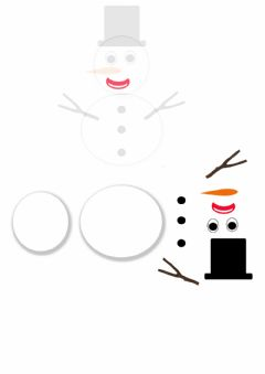 Interactive worksheet Snowman