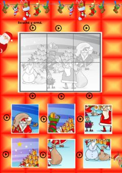 Interactive worksheet Xmas 4- K4