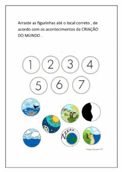 Interactive worksheet Criação do mundo