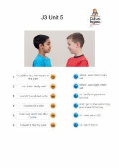 Interactive worksheet J4 U5 - Can-Could
