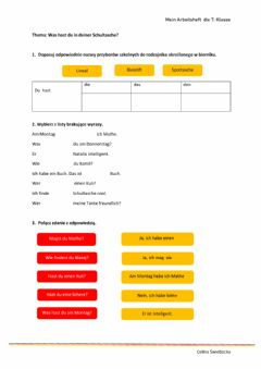 Interactive worksheet Stunde 18