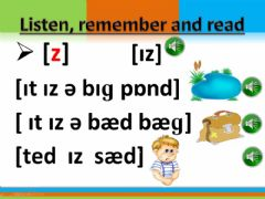 Interactive worksheet Reading (sounds)