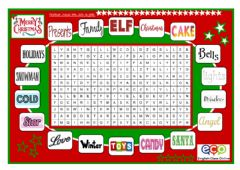 Interactive worksheet Pad Christmas2