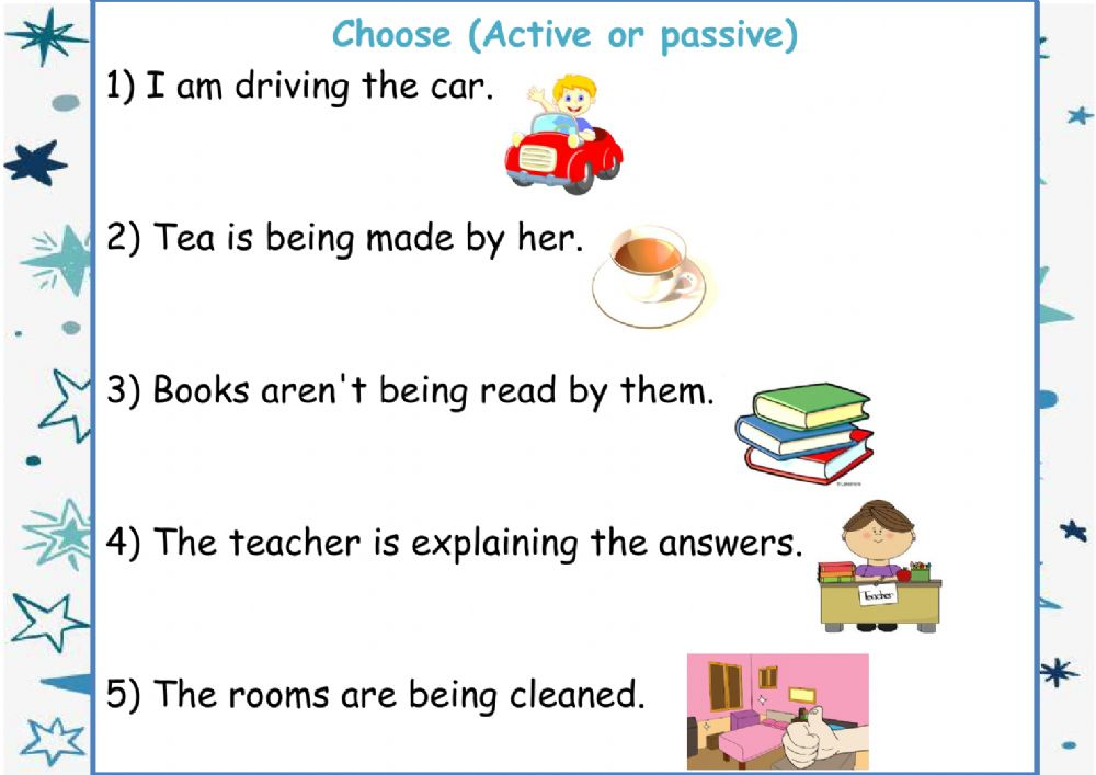 Grammar Online Exercise For 6th